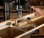 Feature-packed drill-press table
