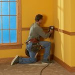 Make Beautiful Baseboards and Chair Rails