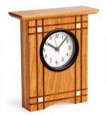 Crisscross Clock